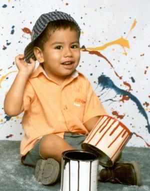 El pequeño Gerardo cumplió dos años de edad y fue festejado por sus padrse Alejandro Colón y Dalia Eunice Barrientos de Colón.