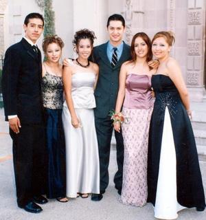 <u> 22 de septiembre </u> <p> Édgar Olague, Jéssica Hernández, Laura Chong, Edy Cruz, Eva Olague y Violeta Salas.