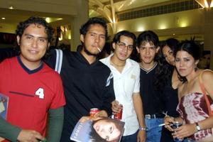 Daniel Cortez, Genoveva Saldívar, Laura Castro, Oscar Fuentes, Luis Rodríguez y Elive Tronche.