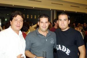 Francisco Limón, Marco Estefanía y Cloro Padilla reunidos recientemente