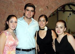 -Rocío Martín, Fernando Ramos, Julia Peña y  Annie Jaik.