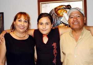 <u> 23 de septiembre </u> <p> Paulina cumplió once años y por tan emotiva fecha le organizaron una fiesta sus papás Yolanda Ramírez de Hurtado y Salvador Hurtado.