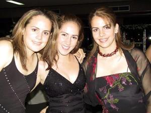 <u> 25 de septiembre </u> <p>Brenda Baille, Anagaby de Juan Marcos y Velia Yarza.