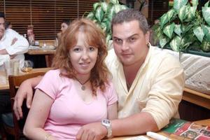 Ana Ávalos y Marco Antonio Alatorre.