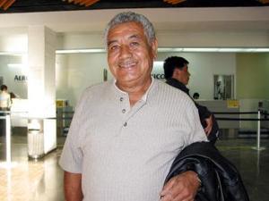 David Soto regresó a Los Ángeles Cal., luego de visitar a sus familiares en la Laguna.