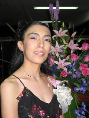 Lizz Adriana López Gallaga en la despedida de soltera ofrecida por Rosy de López y Zoila de Ramos por su próximo matrimonio con Jair Ramón Guzmán