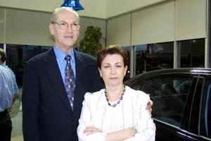 Abelardo Treviño y Laura Díaz de Treviño.