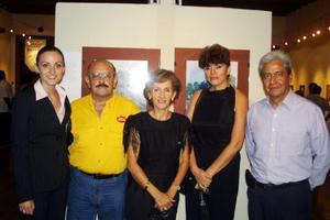 Alejandra Velasco, Jesús Jáuregui, Soledad González, Guadalupe de la Garza y Leopoldo Obregón.