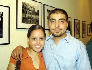 Jéssica Pacheco y Roberto de la Rosa.