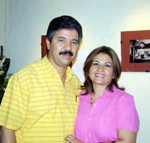 José Luis Trasfí y María Eugenia Castro de Trasfí.