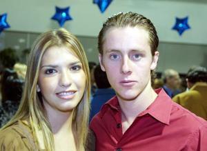 Katia Villarreal y Mario Berlanga.