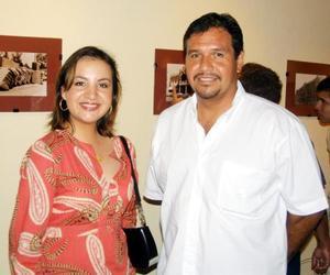 Liz de Peña y Fernando Segovia.