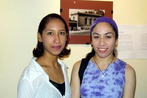 Lizeth Ramírez Martínez y Sara Ovalle.