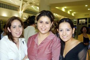 Lucy Rubio, Lilian Centeno y Dulce Segura