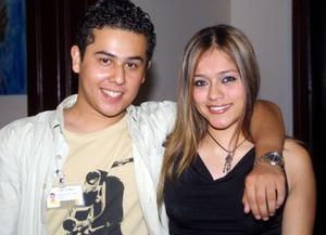 Luis Mario Rodríguez y Duce Anahí Guerra.