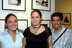 Angela Alanís, Alejandro Piñera y Rafael Blando.