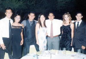 Javier Ayup, Arleth Grana, Luis Valenzuela, Cristina, Carlos Alonso, Daniela López y Miguel Soto.