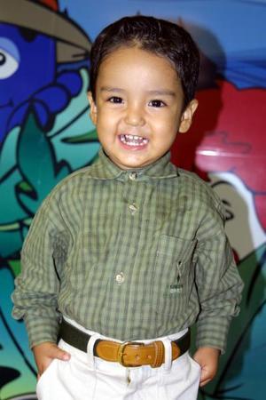El pequeño Diego Armando Hernández Saucedo festejó dos años de edad con un convivio que le ofrecieron sus padres.
