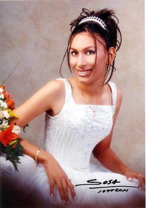 Srita. Ana Karen Meza Estrada celebró su décimo quinto aniversario de vida con una misa de acción de gracias en la Iglesia de San Juan Bautista el dos de agosto de 2003.