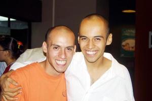 Luis Castillo y Jesús Flores.