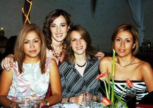 <u>02 octubre</u> <p> Marysol Taboada Barragán fue festejada con unad espedida de soltera, la acompañan sus amigas.