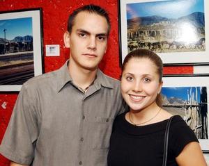 Alain Faudoa y Cristelle Le Henaff.