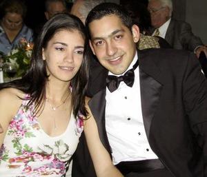 Julia Wilson Suárez y Robert Smith Mery.