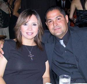 Laura de Rivera y Sergio Rivera.