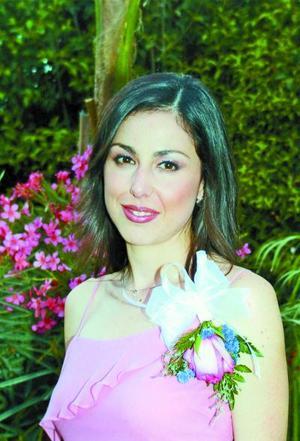 <u>02 octubre </u> <p> Guadalupe Alejandra Díaz de León Maisterrena en la despedida de soltera que le ofrecieron.