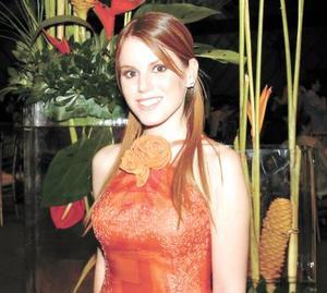<u>03 octubre </u> <p>  Srita. Guadalupe Estrada Villarreal el día de su despedida de soltera.