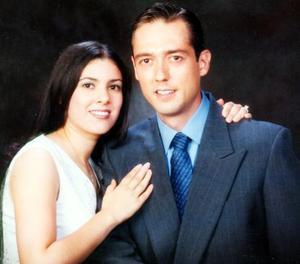 Javier González Lara y Sandra María Garibay Franco contrajeron matrimonio el 04 octubre