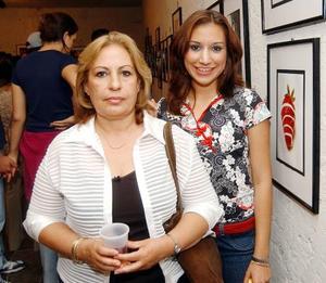 Karla Castañeda y Luz María Diosdado.