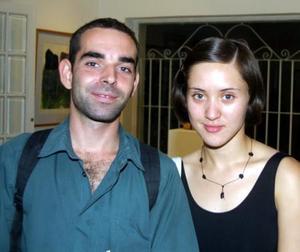 Armando Marín y Yazmín Reyes.