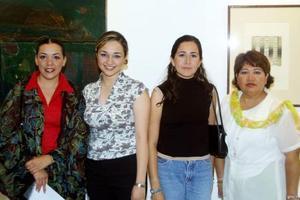 Claudia Aguilera, Prisa y Brenda Álvarez y Jesy Medrano.
