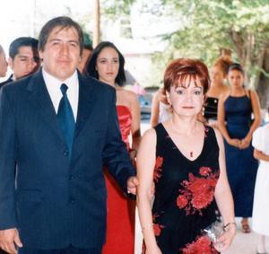 Jorge Sánchez y Ana María Teresa Rodríguez