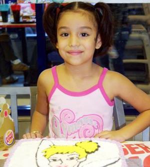 Paloma Yamile cumplió seis años de edad el 29 de septiembre