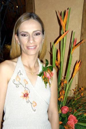 Olga Elisa García Garza en su primera despedida de soltera