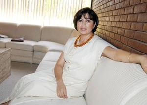 <u>08 octubre </u><p> Lupita de Murra captada recientemente.