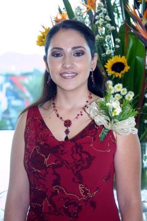 <u>07 octubre </u> <p>  Señorita Verónica Rodríguez Cortés en la despedida de sotlera que le prepararon con motivo de su próximo matrimonio con el señor Adolfo Martínez Ruíz.