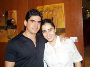 Abelardo de la Fuente Webb y Gabriela Herrera Silveyra.