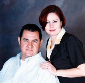 Aldo Edmundo Meraz Yáñez y Martha Elena Díaz Zamora contrajeron matrimonio el pasado cuatro de octubre.