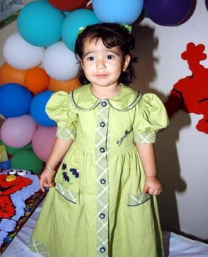 La pequeña Sara Isabel Parra cumplió dos años de vida, sus papás Rubén Parra y Sara Lucila Artea le prepararon una merienda.