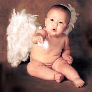<u>12 octubre</u><p> Niño Efrén Bollainy Goytia Salgado en una fotografía de estudio con motivo de su primer año de vida.