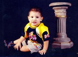 Dylan  Nahed Ríos de Anda, hijo de los señores Julio César Ríos Rodríguez y Pamela  Elizabeth de Anda.