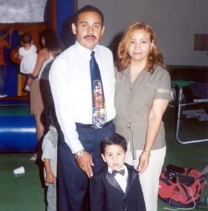 Jared Alejandro celebró su tercer aniversario de vida con una fiesta preparada por sus papás, Héctor Alvarado y Olivia de Alvarado.