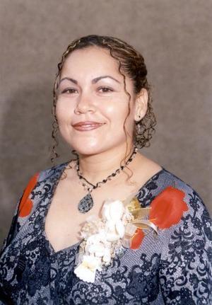 Alejandra Ortiz Díaz en su despedida de soltera.