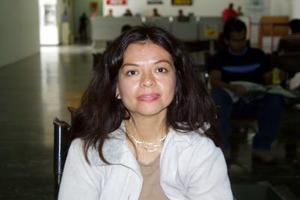 Cony Gaytán regresó a Guadalajara después de asistir a un seminario de la CFE.