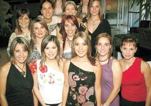 Katia Madero, Patricia Barba, Mónica Villalobos, Mayra Barba, Brenda Artigas.