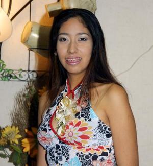Señorita Sara Irene Villanueva García contraerá matrimonio con Luis Fernando Castañeda Mancha