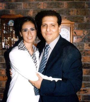 Jesús Rivelino Monárrez Corrales y María Teresa Aldama Trevizo contrajeron matrimonio recientemente